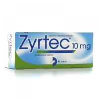 ZYRTEC Potahované tablety 20x10 mg